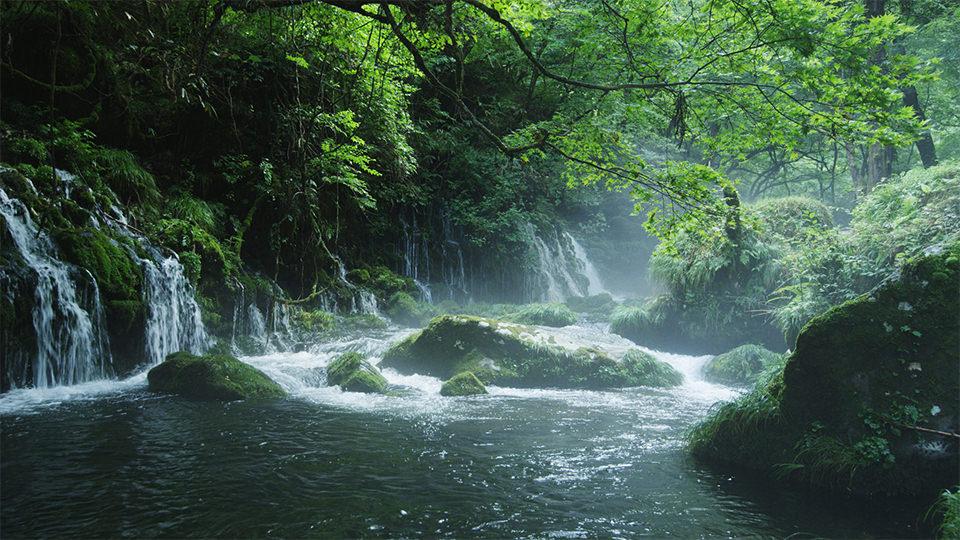 元滝伏流水 - Mototaki Falls