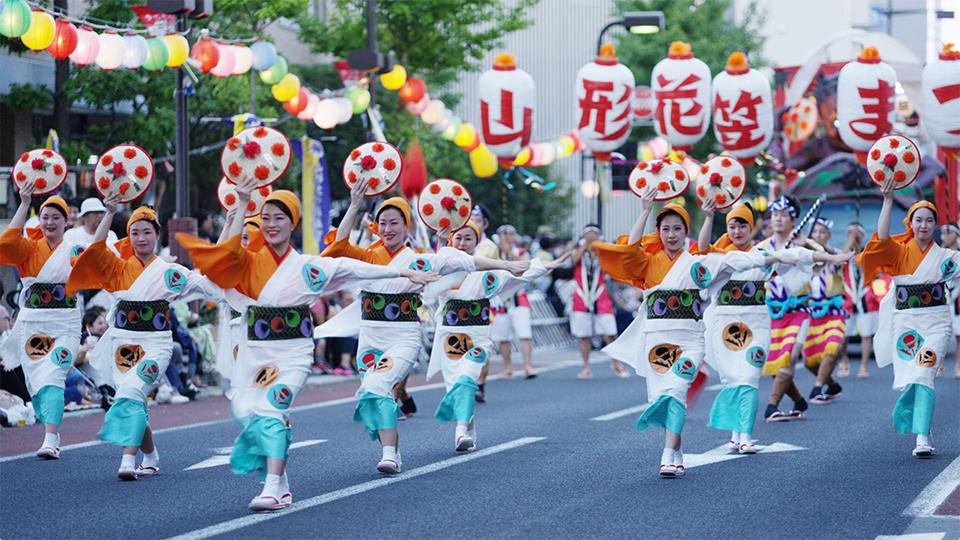 야마가타 하나가사 축제 - Yamagata Hanagasa Festival