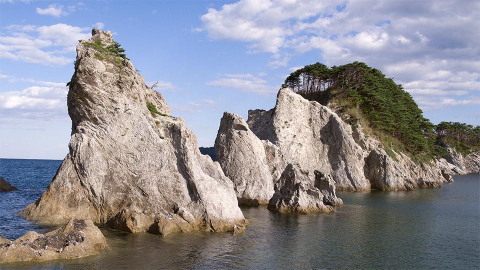 净土浜 - Jodogahama Beach