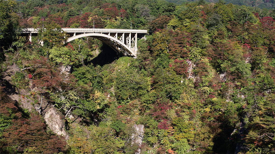 나루코협곡 - Narukokyo Gorge