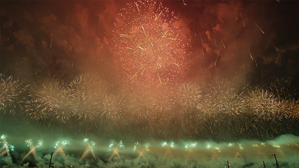 เทศกาลดอกไม้ไฟโอมาการิ - Omagari Firework Festival