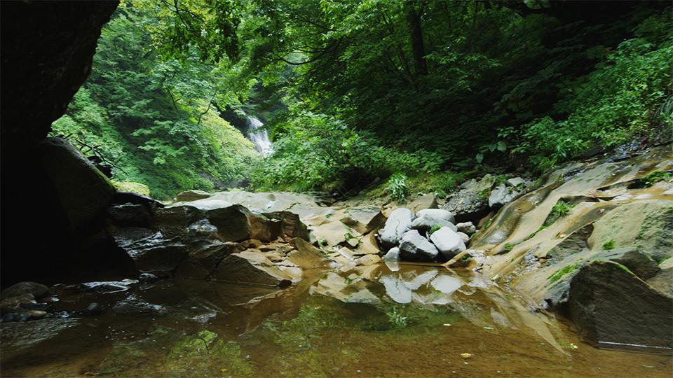 후타쿠치 협곡 - Futakuchi Gorge (Anetaki Falls)