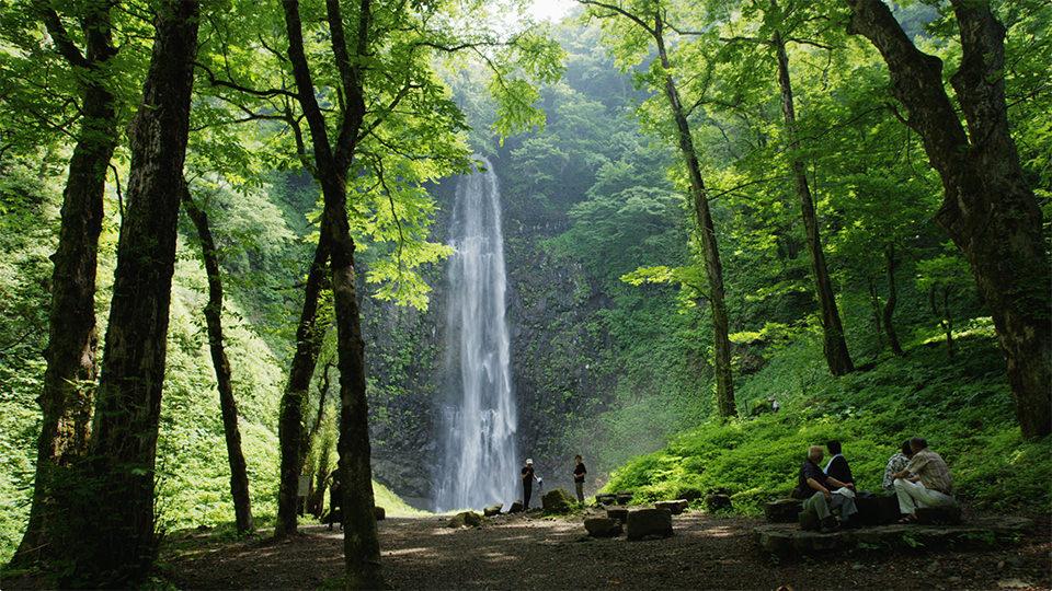 玉帘瀑布 - Tamasudare Falls