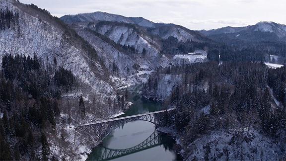 第一只见川桥梁 - Daiichi Tadami RIver Bridge