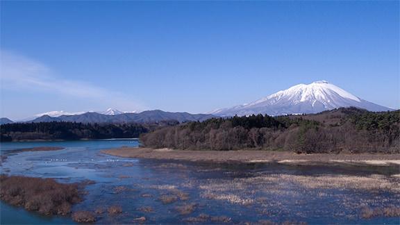 南部片富士湖 - Lake Nanbu-katafuji