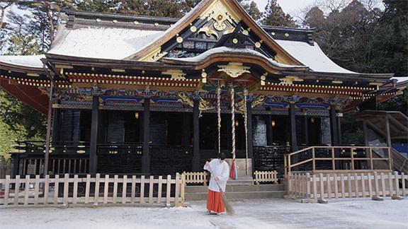 ศาลเจ้าโอซากิฮาจิมังงู - Osaki-hachimangu