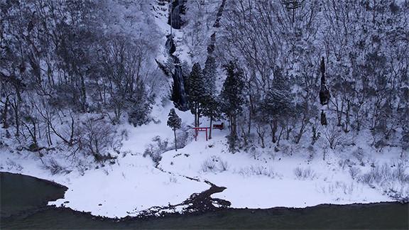 Mogami River & Shiraitono-taki  - 最上川・白糸の滝